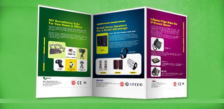 sample of leaflets